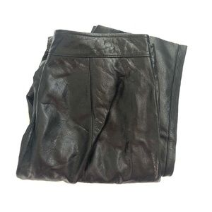 Wilsons Leather Maxima Black Soft Leather Pants 12